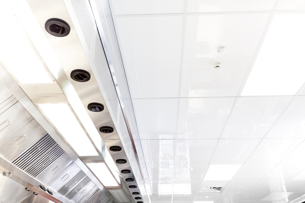commercial kitchen ceiling tiles: for high performance