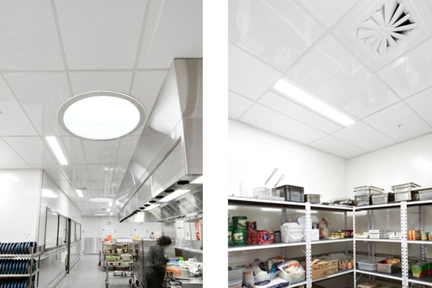 The Fenta Ceiling Tile Is A High Gloss Coated Fibre Cement Ceiling Tile - Ceiling tile stores near me
